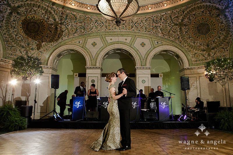 chicago cultural center wedding photography