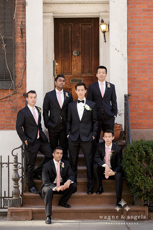new york wedding groomsmen