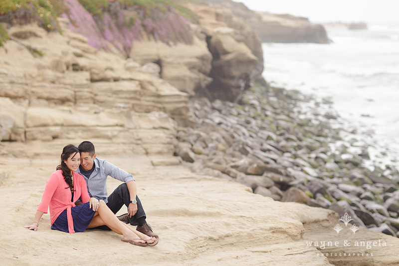 la jolla shores engagement pictures