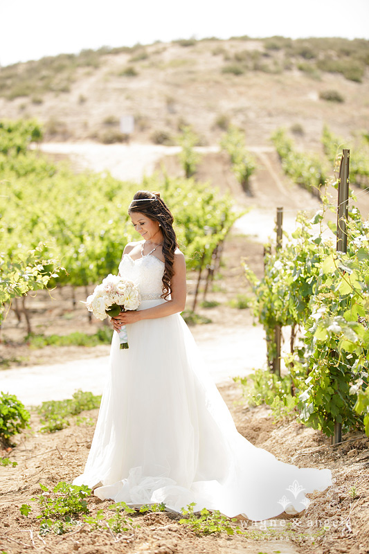 wine country bride