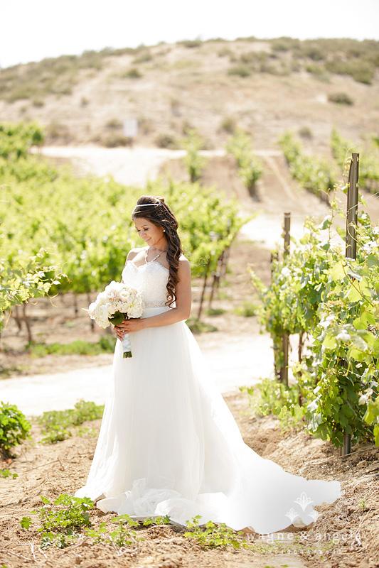 wine country bride