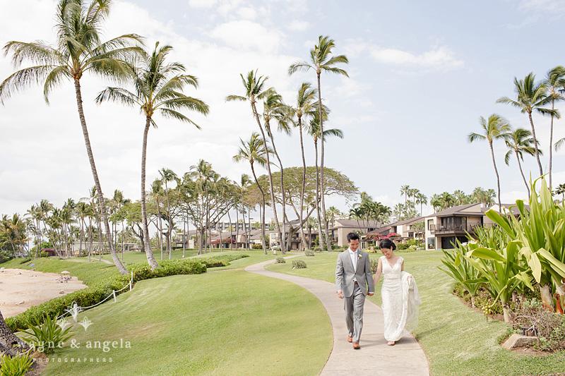 maui wedding pics