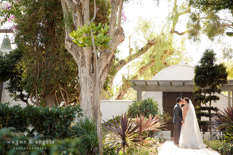 san diego garden wedding pictures