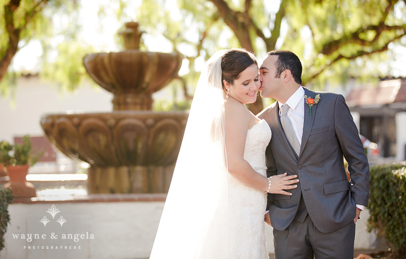san diego garden wedding mission photos