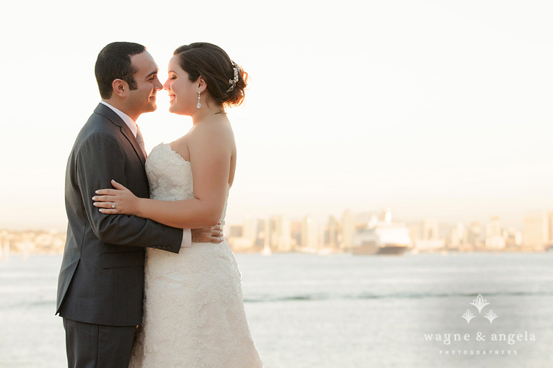 san diego skyline wedding photos
