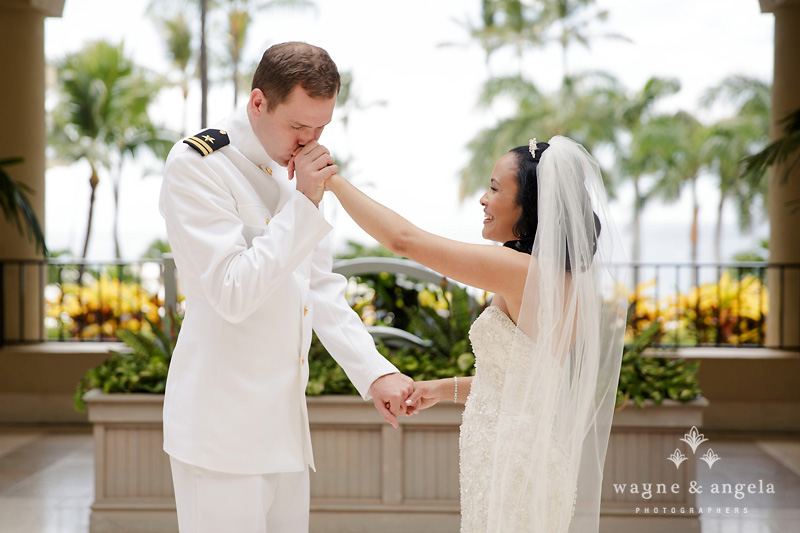 four seasons hawaii wedding