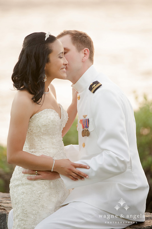 hawaii bride and groom