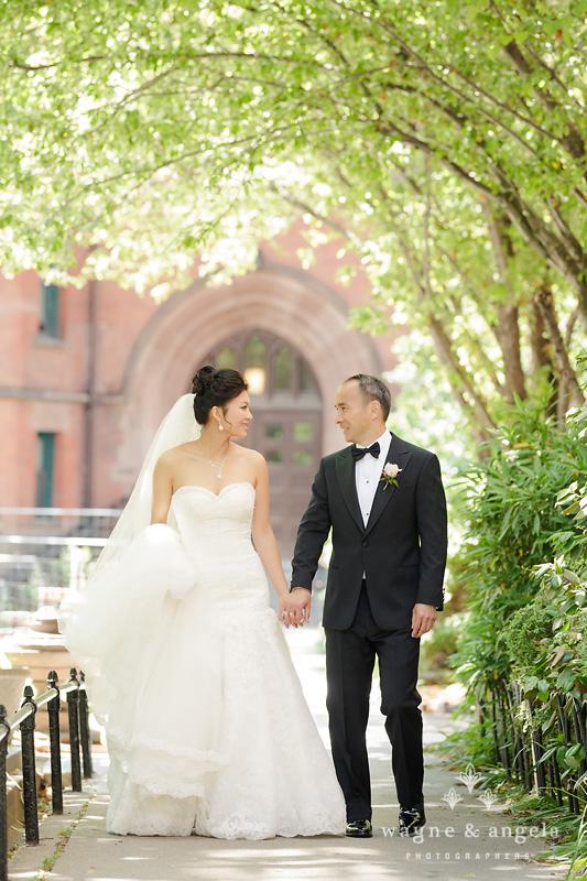 high line wedding photos