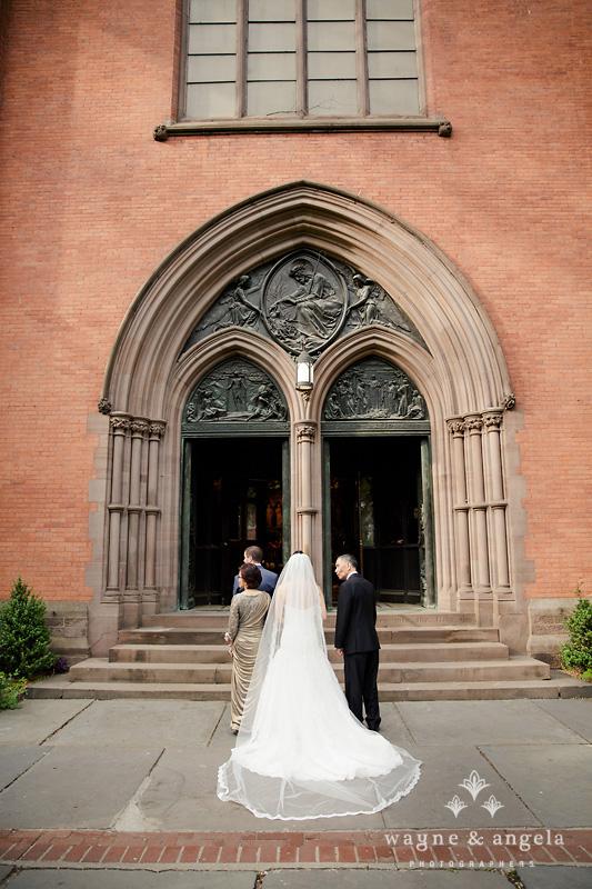 high line church wedding