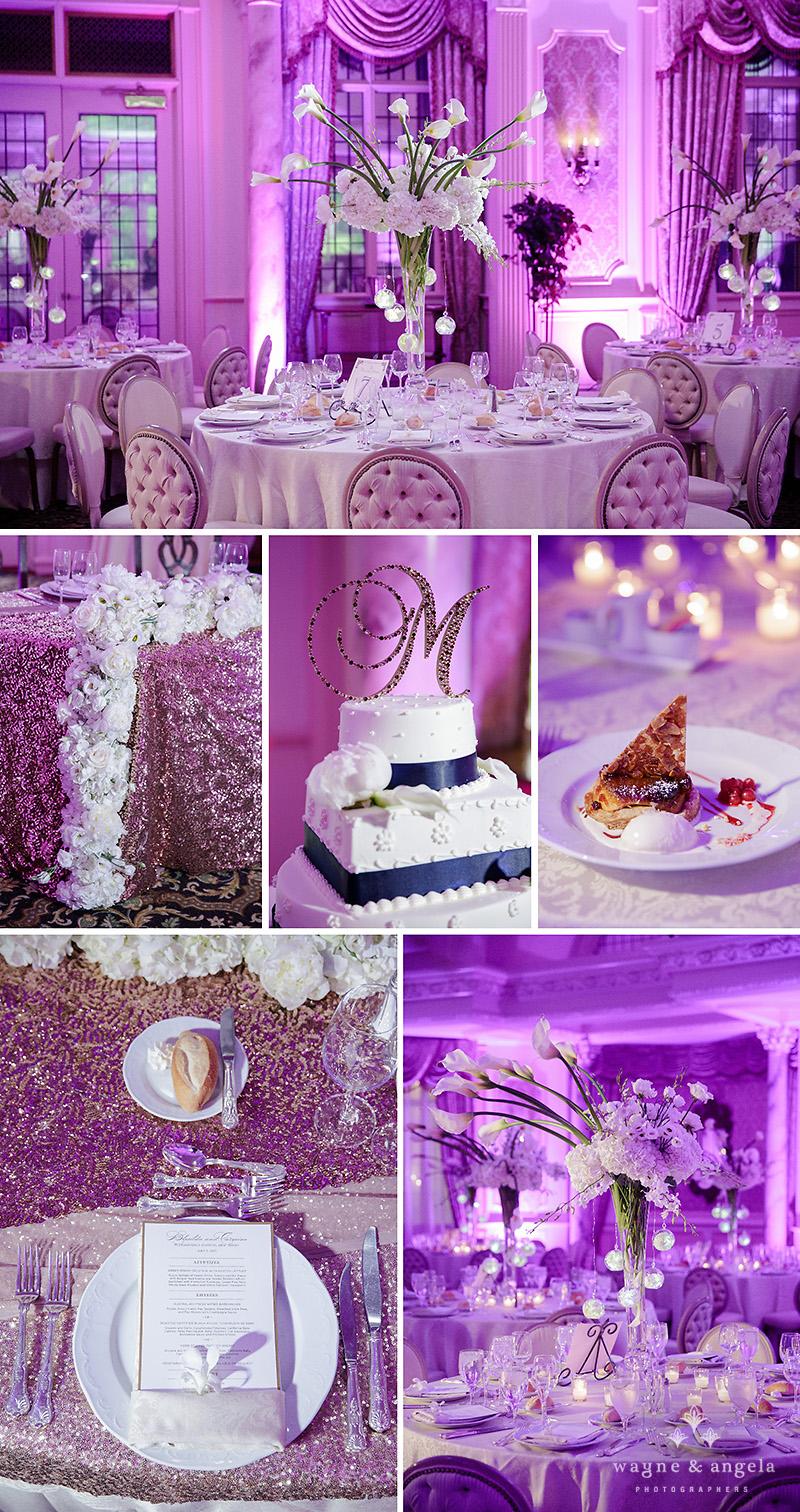 pleasantdale chateau wedding details