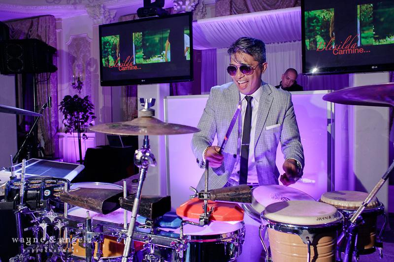 nj wedding drummer