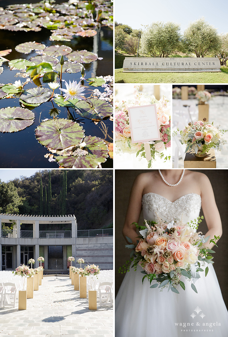 skirball wedding flowers