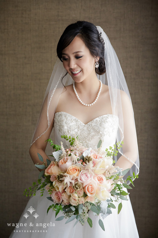 la asian wedding bride