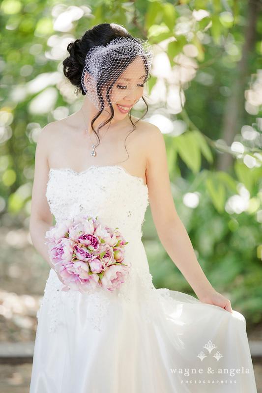 los altos wedding bride