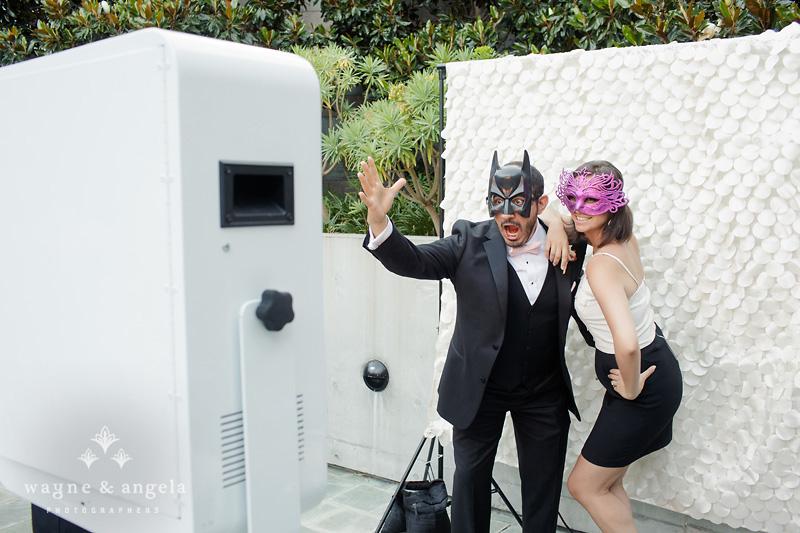 la wedding Photo Booth